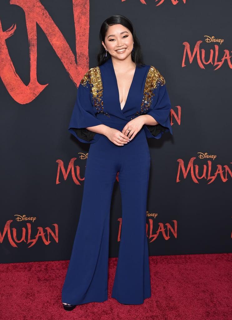 Lana Condor at the Mulan Premiere