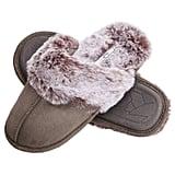 Jessica Simpson Memory Foam Women's House Slippers in Gray