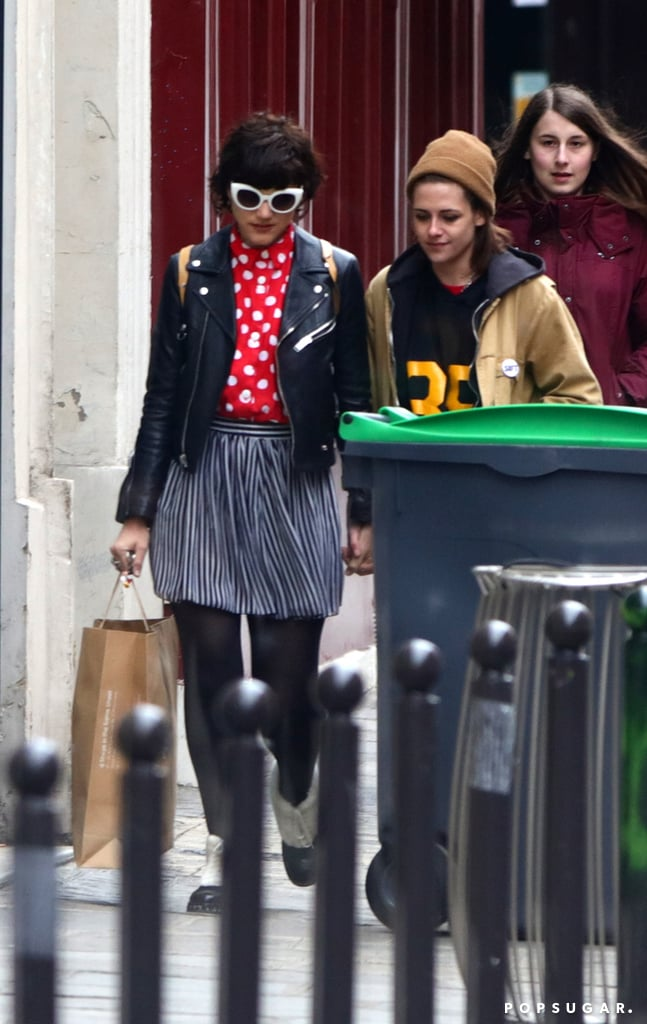 Kristen Stewart and Soko just keep the PDA-filled appearances coming! On Saturday, the duo was spotted holding hands while out on a romantic stroll around Paris. The outing comes at the tail end of jam-packed week for the couple, who first sparked dating rumors during an LA lunch date earlier this month. After jetting off to France, Kristen continued to put her romance with Soko on display at the Charles de Gaulle Airport, while playing Frisbee at the park, and during a casual Parisian outing. The two ladies were even spotted sneaking in kisses on the street. Read on to see more of the pair, and then get to know Soko in five quick facts.