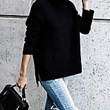 Beautife Turtleneck Soft Knitted Sweater