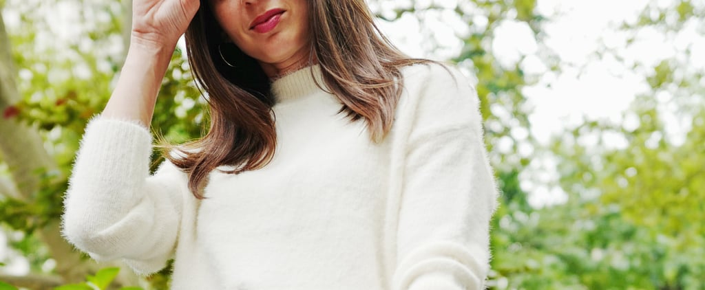 Easy Outfit Idea: How to Wear a Fuzzy Sweater