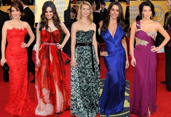 Condensed Sugar: Gorgeous Gowns & Guys at the SAGs