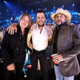 Pictured: Keith Urban, Luke Bryan, and Jason Aldean