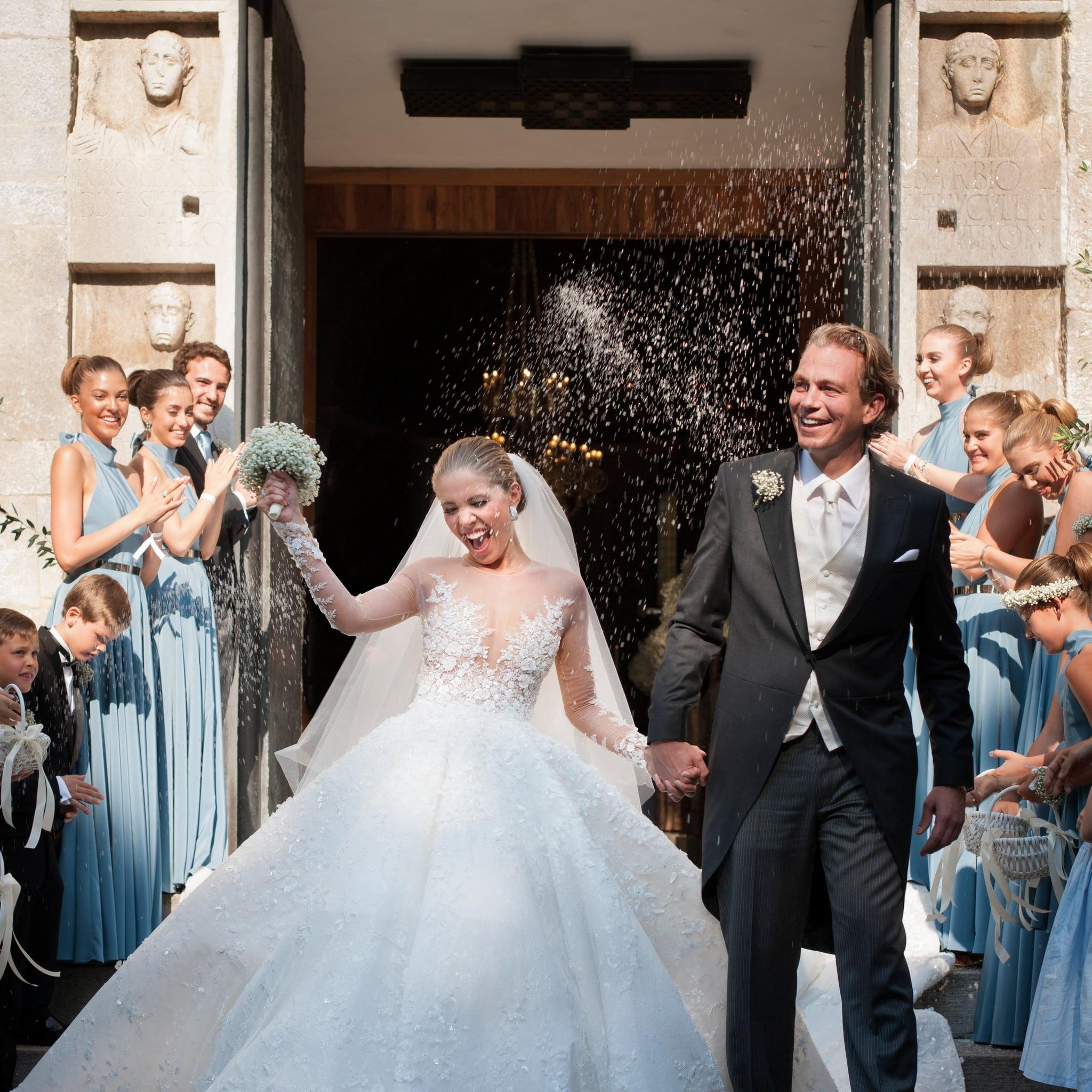 Most Extravagant Wedding Dresses of 2017 POPSUGAR Fashion
