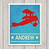 Airplane Art Print ($22)