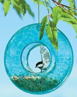 Blue Moon Birdfeeder ($19.95)