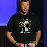 "Will Ferrell and his kids surprised the audience when they came on to present ""last minute."""
