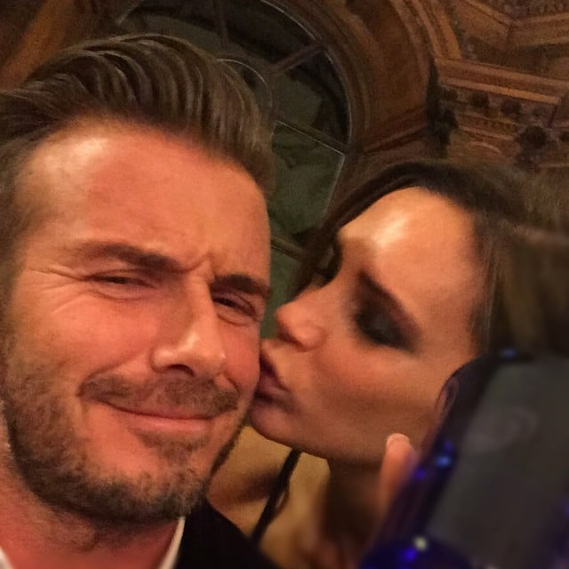 Victoria and David Beckham Show PDA on Instagram