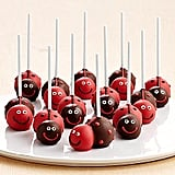 Love Bug Brownie Pops