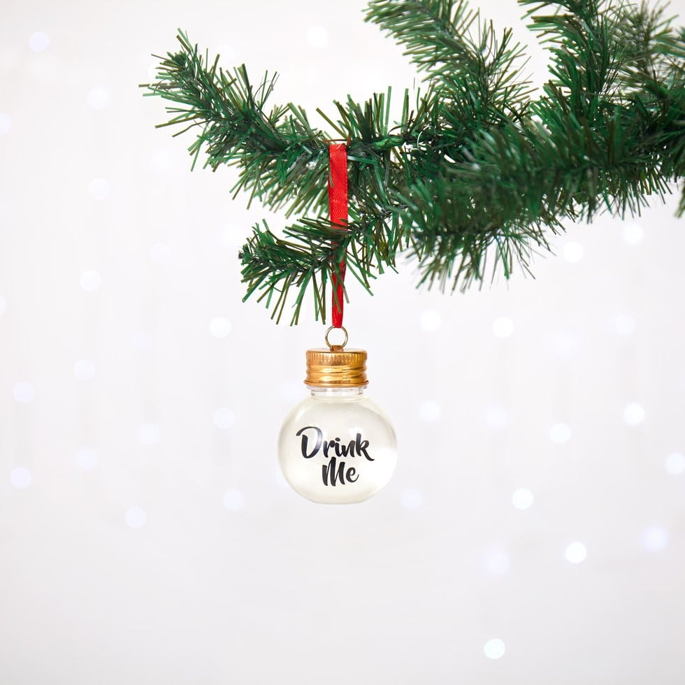 Christmas Ornaments Filled With Alcohol