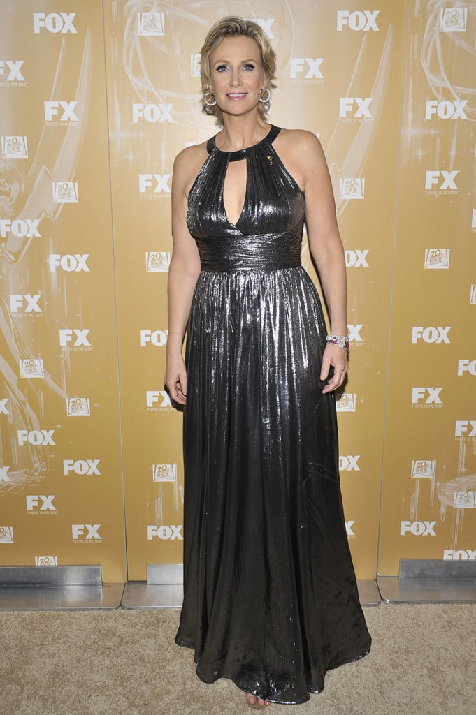 Jane Lynch at the 2011 Fox Emmys bash.