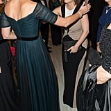 When Prince William and Kate Middleton headed to NYC for a trip in December 2014, Kate gave Princess Eugenie a big hug at the St. Andrews 600th Anniversary Dinner.