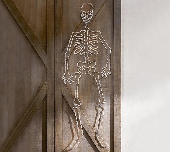 Lit Skeleton