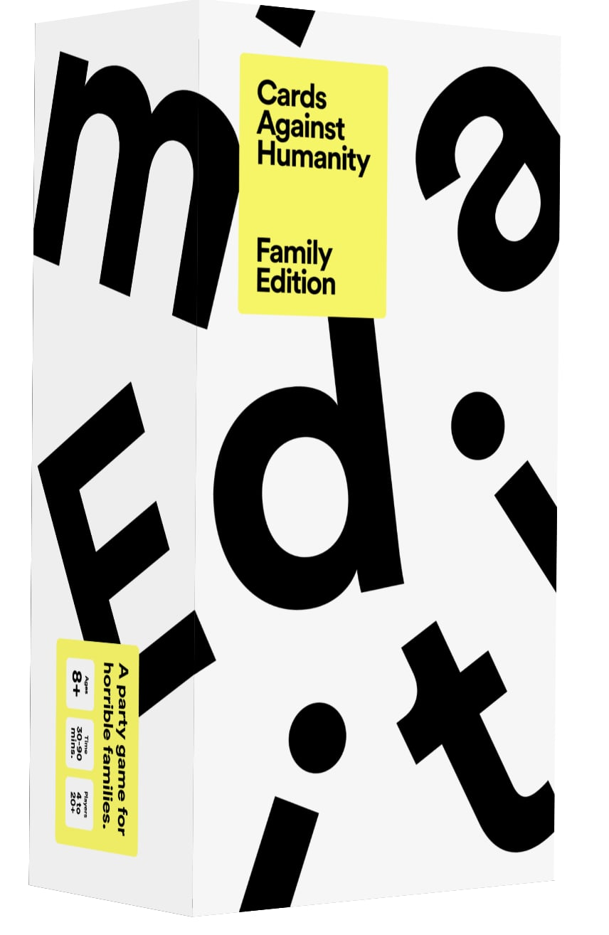 Cards Against Humanity Family Edition Free Downloadable Game Popsugar Family
