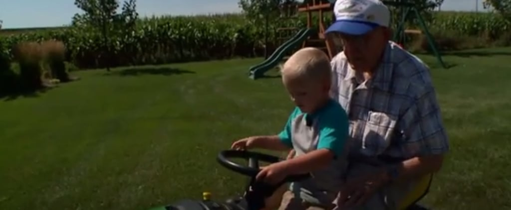 Boy Says Goodbye to 91-Year-Old Best Friend Who Passed Away
