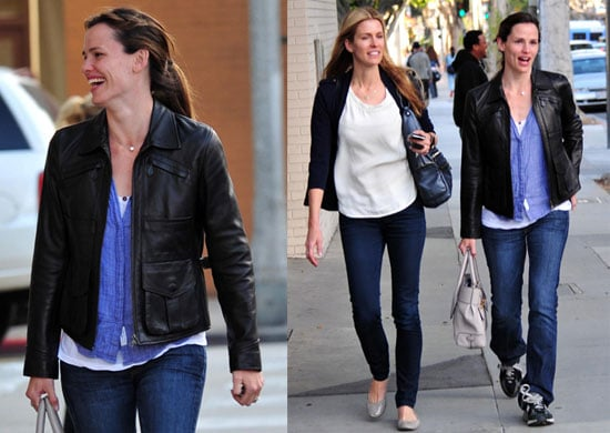 Pictures of Jennifer Garner Laughing With a Friend in LA
