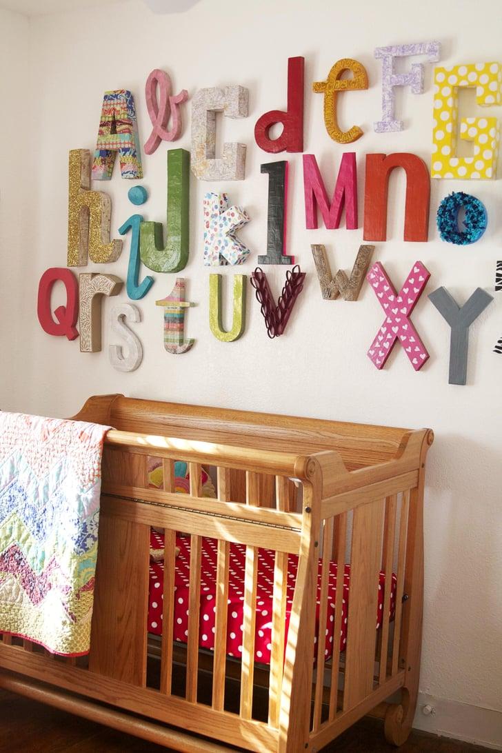 Wall Alphabet Kid Friendly Crafts Popsugar Family