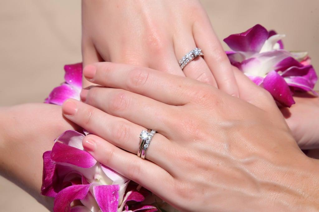 Lgbtq Couples Share Their Engagement Rings Popsugar Fashion