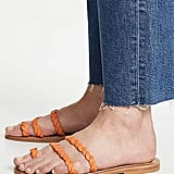 K. Jacques Women's Thais Braided Toe Ring Slides