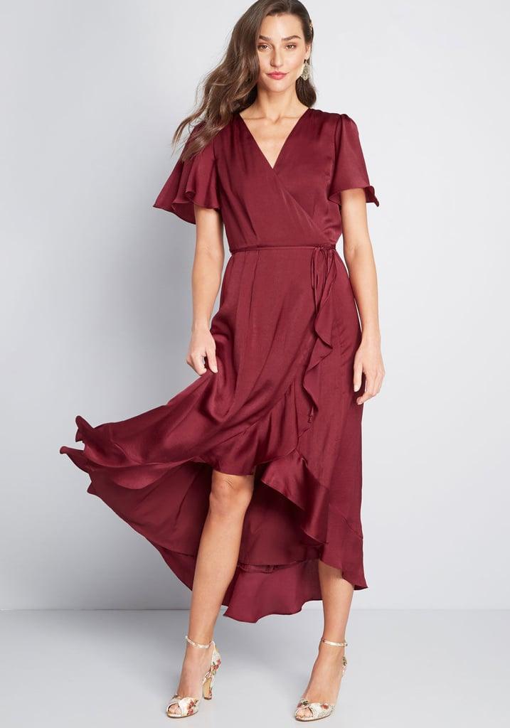 094272fc8edf Stunning Wonder Maxi Wrap Dress | Best Modcloth Dresses 2019 ...