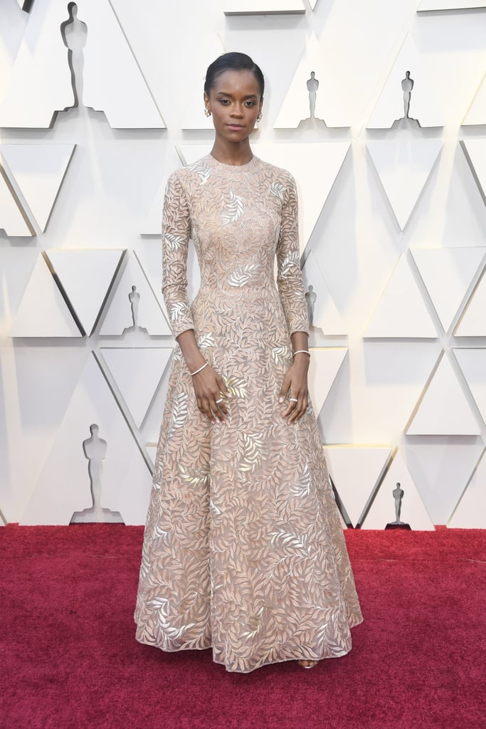 Letitia Wright at the 2019 Oscars