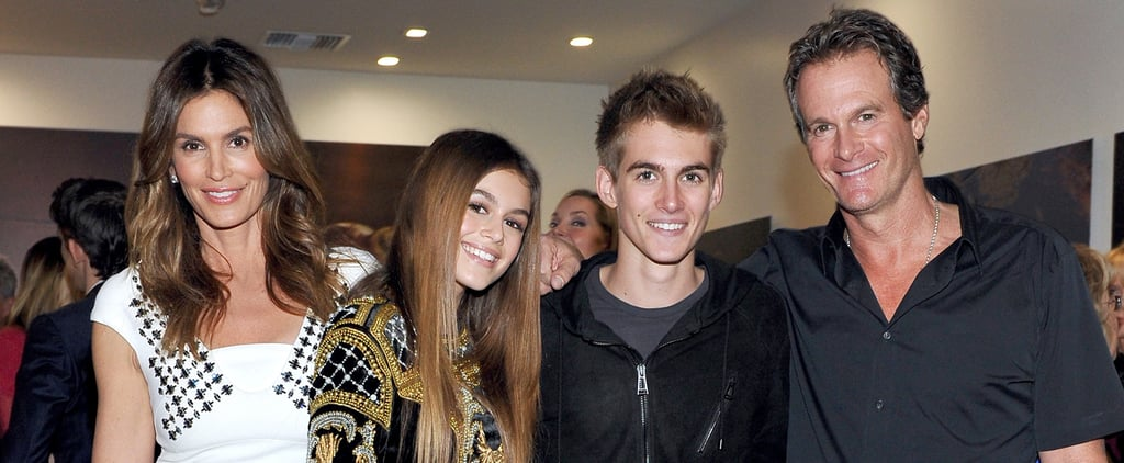 Cindy Crawford and Her Family at Becoming Book Party 2015