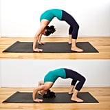 Backbend Push-Ups