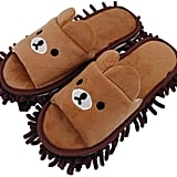Selric Chenille Microfiber Washable Mop Slippers