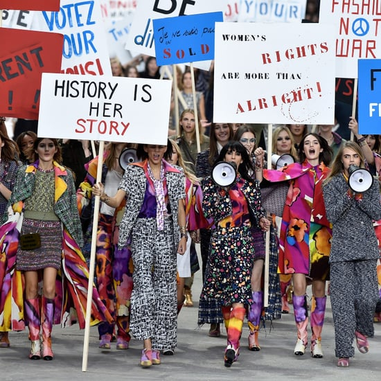 Kendall Jenner & Cara Delevingne Lead Chanel Feminist March