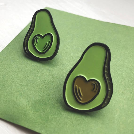 Avocado Friendship Pin Set ($10)