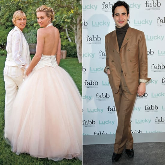 12 of the best celebrity designer wedding dresses for Portia de rossi wedding dress