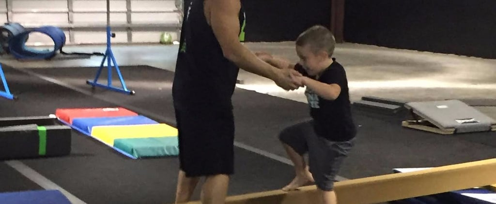 Boy With Autism Takes Gymnastics Classes