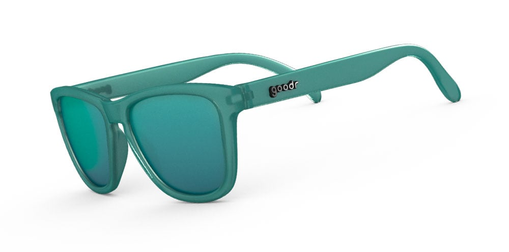Teal Running Sunglasses