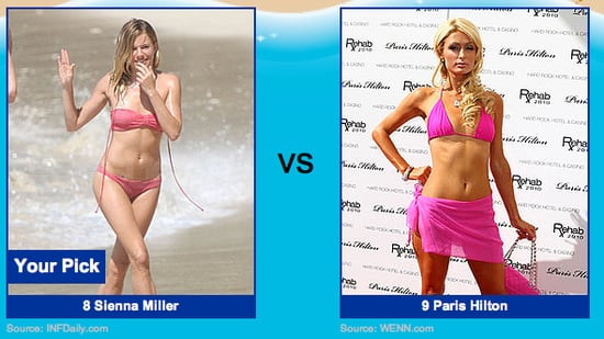 Bikini Pictures of Sienna Miller and Paris Hilton