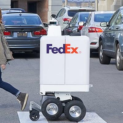 فيديكس تعلن عن تجريب عربات توصيل روكسو ذاتية القيادة في دبي