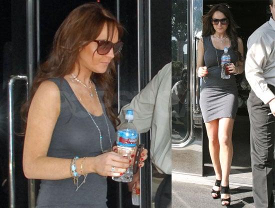 Lindsay Lohan Shopping for Diamonds in LA