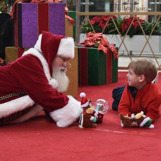 Boy With Autism Meets Santa Through Autism Speaks