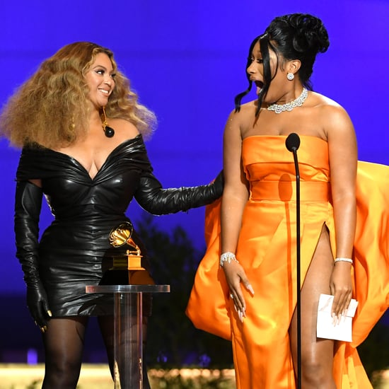 Watch Megan Thee Stallion and Beyoncé's Grammys 2021 Speech