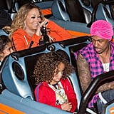 Mariah Carey Goes All Out For Her Twins' Disneyland Birthday Bash