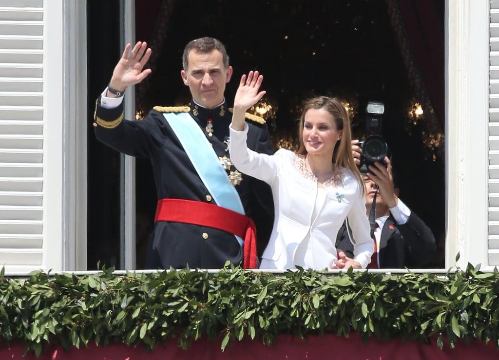 King Felipe VI and Queen Letizia of Spain Coronation Photos