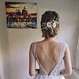 Wedding Hair Piece Succulent Crown