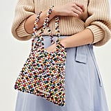 Loeffler Randall Charlie Mini Beaded Hobo