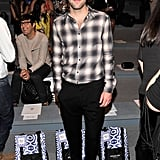Zachary Quinto went geek-chic for the Richard Chai show on Thursday morning.
