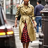 French-Inspired Style: Finish With a Trench Coat