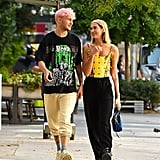 Cute Photos of Anwar Hadid and Dua Lipa