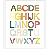 Our One Kings Lane Pick: Modern Alphabet Print ($75)