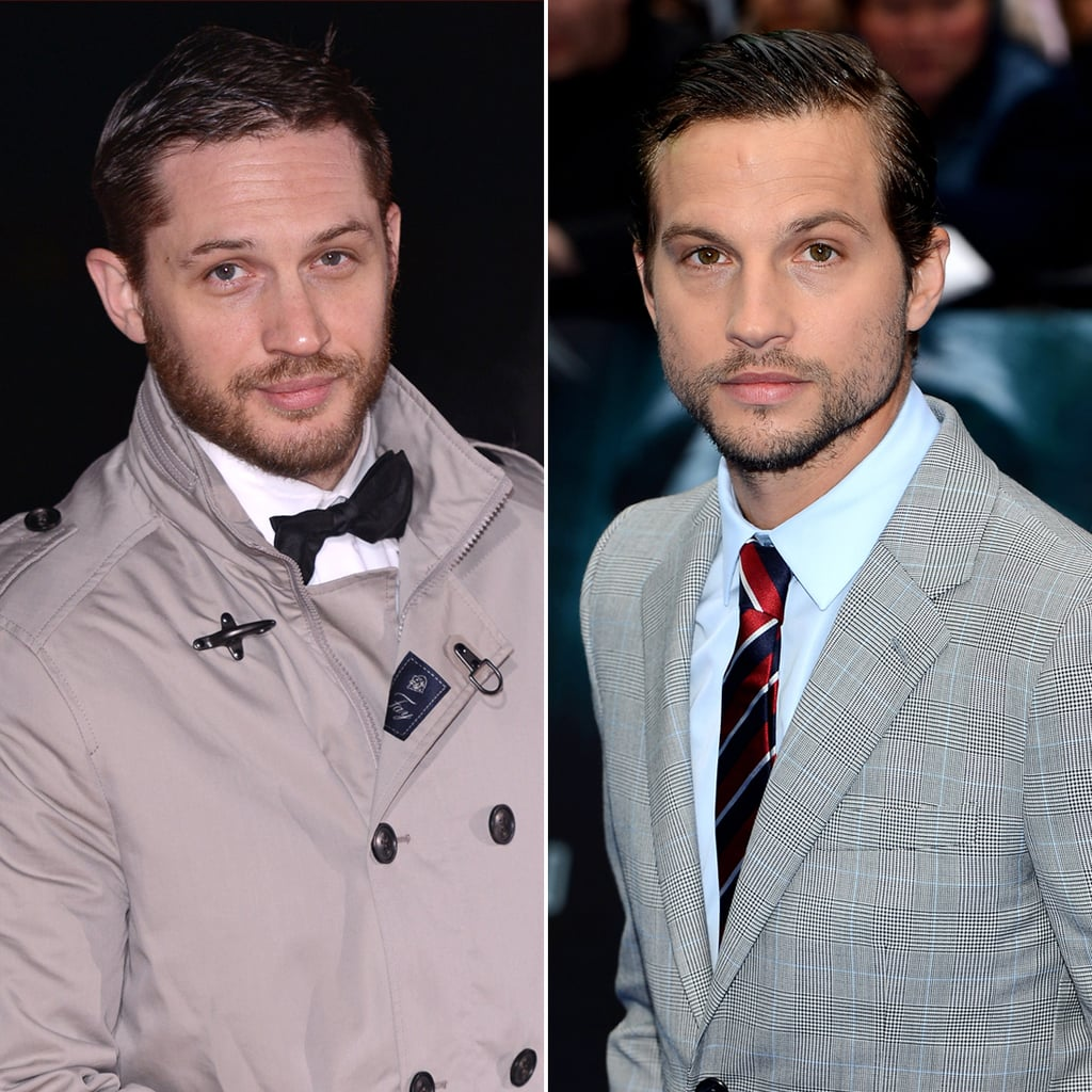 tom hardy and logan marshall green celebrity lookalikes celebrities that look the same popsugar celebrity photo 8