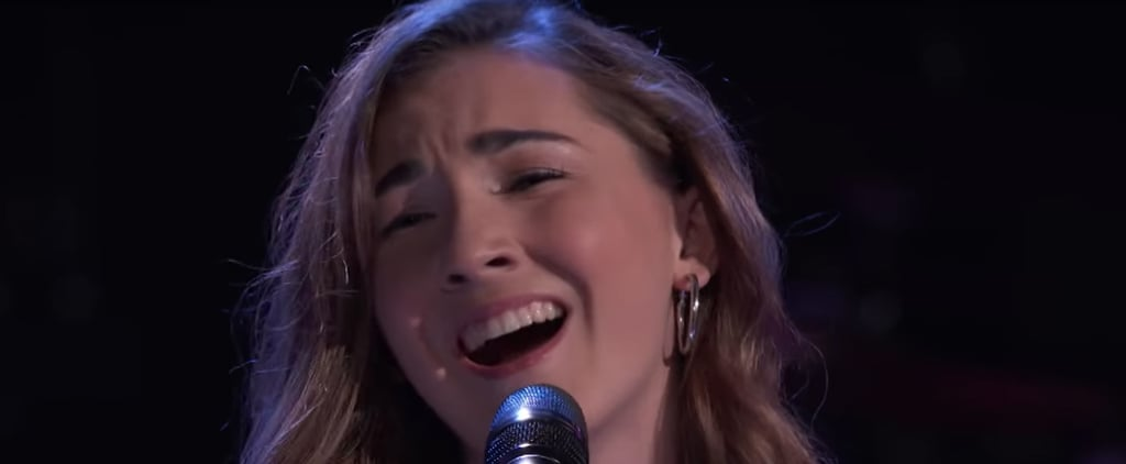 """Allegra Miles's """"Use Somebody"""" Blind Audition on The Voice"""