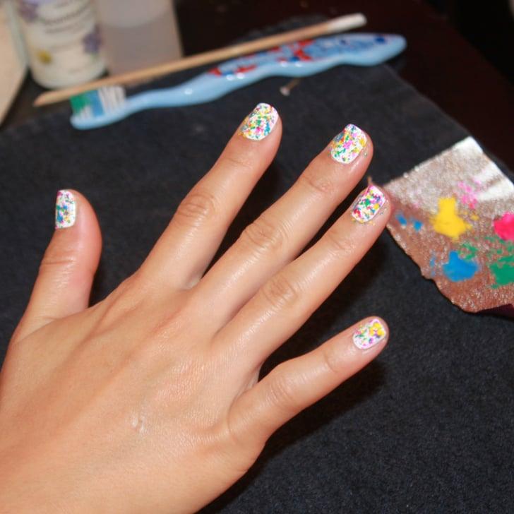 Graffiti Nail Art Tutorial By Naomi Yasuda   Popsugar Beauty Graffiti Nail Art Tutorial by Naomi Yasuda   POPSUGAR Beauty Nail Art nail art on jackson
