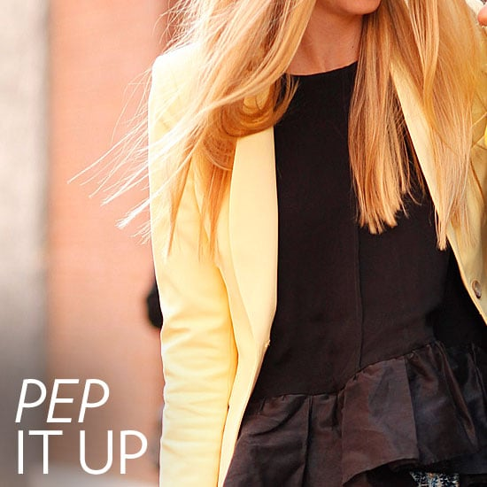 Love Spring's Peplum Trend? Here Are 3 Foolproof Ways to Wear It